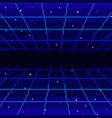 pixel art 80s vector image