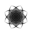 sacred geometry 0196 vector image vector image