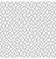 seamless geometry truchet pattern vector image vector image