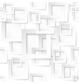 square shape sticker on white background vector image vector image