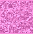 triangle tiled pattern background - polygonal vector image vector image