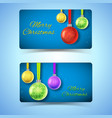 winter holidays horizontal banners vector image