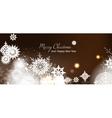 Christmas card New year vector image