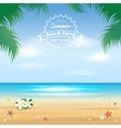 Event Summer beach party enjoy vector image vector image