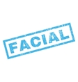 Facial Rubber Stamp vector image vector image