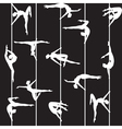Pole dancer silhouette vector | Price: 1 Credit (USD $1)