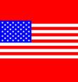 usa stars and stripes flag vector image vector image