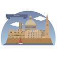 Valletta vector image vector image