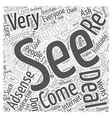 Adsense is for Everyone Word Cloud Concept vector image vector image