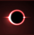 Black hole solar eclipse light