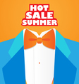 fashion hot summer vector image vector image