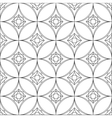 geometrical circular pattern background vector image