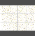 gold star confetti celebrations simple festive vector image vector image
