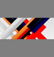 multicolored lines background design template vector image vector image