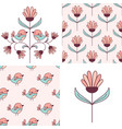 patterns and design elements collection vector image vector image