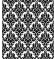 Seamless background in retro damask style vector image vector image