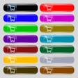 Shopping cart icon sign Set from fourteen vector image