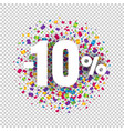 special offer price sign transparent background vector image