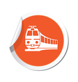 Train symbol vector image vector image