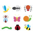 insects bugs vector image