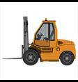 fork lift truck vector image
