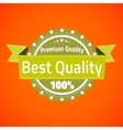 Best premium quality badge vector image