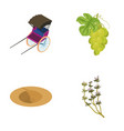 coal viticulture and other web icon in cartoon vector image vector image