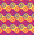 Colorful spiral pattern EPS10 vector image