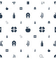 healthy icons pattern seamless white background vector image vector image