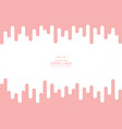 abstract modern background of pink living vector image vector image
