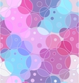 abstract seamless background circles vector image