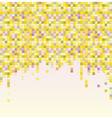 Colorful pixel background vector image