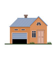 family house vector image