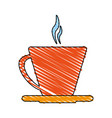 hot cup or mug icon image vector image vector image