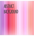 Pink abstract striped background vector image