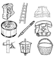 set of home related vector image vector image