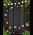 template for your wishes layout vector image vector image