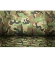 Woodland Camouflage background vector image vector image