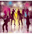 dance vector image