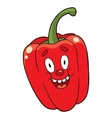 Cartoon pepper vector image vector image