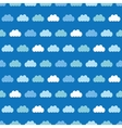 Clouds Blue Sky Seamless Pattern vector image