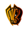 furious ant head sport logo concept vector image vector image