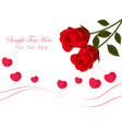 Gift card with valentine day