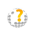 golf expert vector image