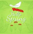 spring season theme vector image vector image