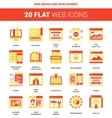 Web Design and Development vector image vector image