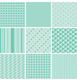 seamless baby patterns vector image