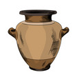 ancient greek vase vector image