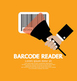 Barcode Reader Graphic vector image