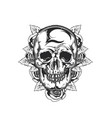 emblem design vector image